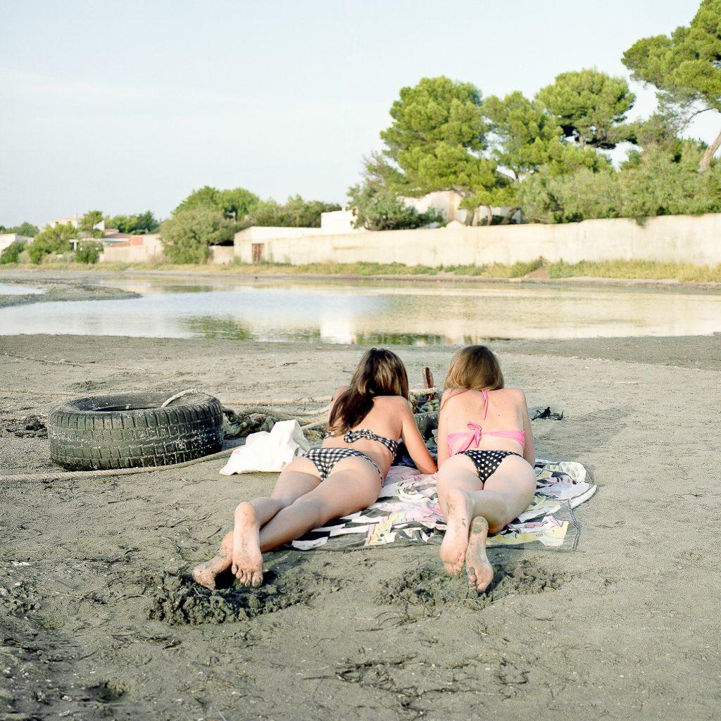 Sans titre #9 P.S. : je t'écris depuis la plage des Mouettes - Sandra Mehl - galerie Sit Down