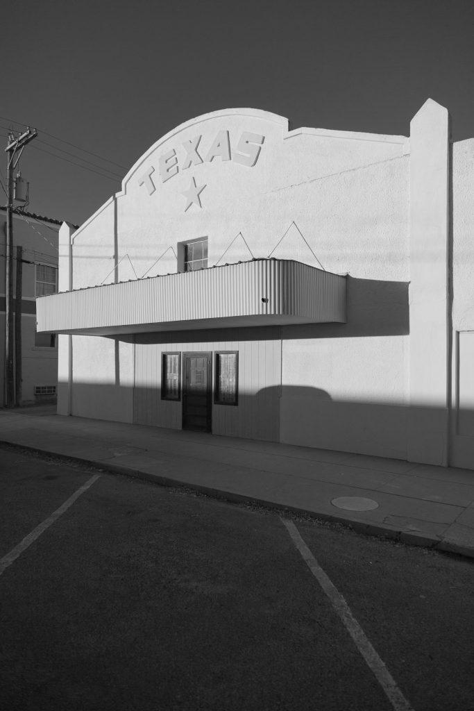 "François DELEBECQUE ""Marfas, Texas"" Marfa 0422 galerie Sit Down"