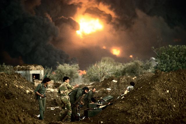 Série La ligne verte, Liban 1985  ©courtesy galerie SIT DOWN
