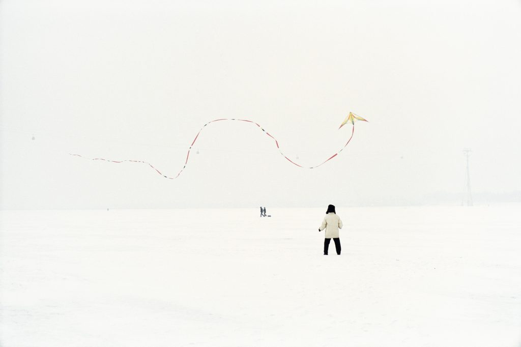 Catherine HENRIETTE, Cerf volant #4 Conte d'hiver, Galerie Sit Down