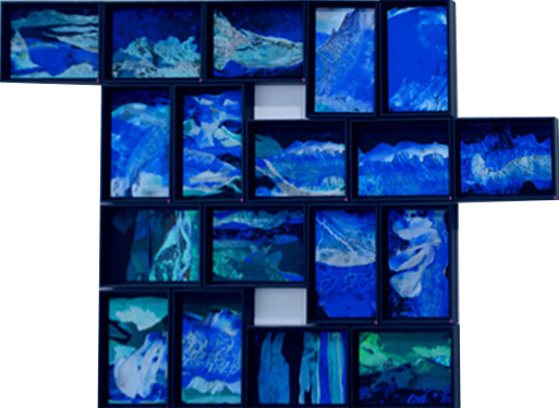 installation atlantides-Valérie WINCKLER-Galerie Sit Down