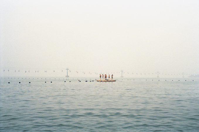 Catherine Henriette, conte d'été, Le ponton, 2014 galerie Sit Down