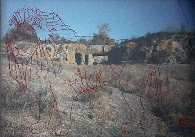 Rupestre Pd'A 02 Inventaire, Salvatore Puglia, galerie Sit Down