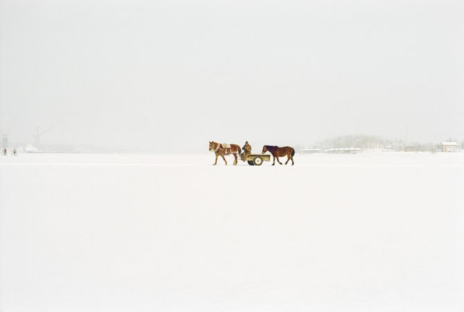 Catherine Henriette, conte d'hiver, Harbin, 2013 galerie Sit Down