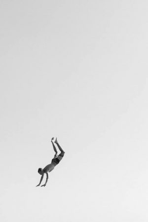 Rocher du Goudoul #11, 2020  Tirage pigmentaire sur papier Hahnemühle Rag contrecollé sur aluminium, encadrament caisse américaine blanc mat 36 x 24 cm Édition signée, datée et numérotée au verso par l'artiste Édition de 7 exemplaires tous formats confondus + 2 EA ©Gilles Coulon  courtesy galerie Sit Down