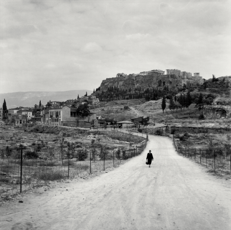 Robert McCABE, Athens. The Agora and the Acropolis from Observatory Road © galerie Sit Down