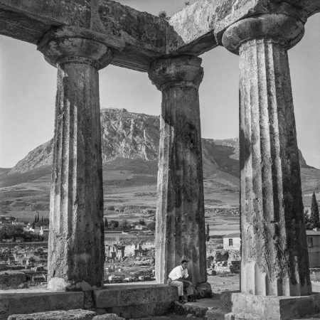 Robert McCABE, Corinth, The Archaic Temple of Apollo © galerie Sit Down