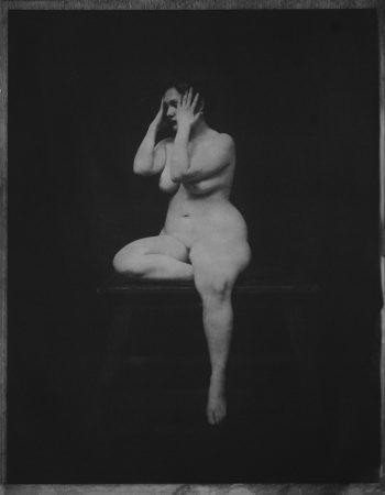 Académie 3, 2016 Dimensions : 18 x 24  cm Photogravure sur papier