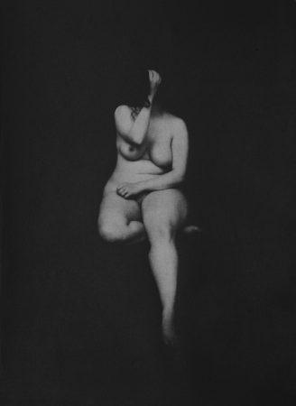 Académie 5, 2016 Dimensions : 38 x 28  cm Photogravure sur papier