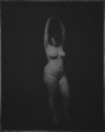 Académie 7, 2016 Photogravure sur papier Dim.  tirage : 38 x 28 cm