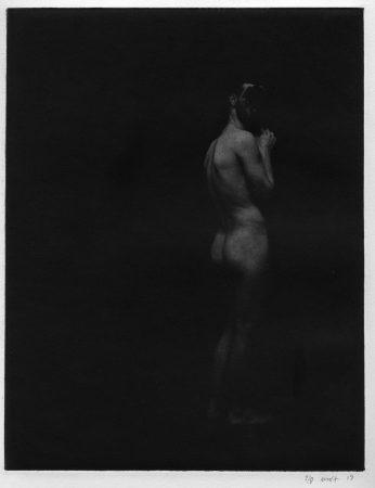 Académie 9, 2019 Dimensions : 38 x 28  cm Photogravure sur papier