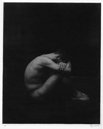 Académie 10, 2019  Dimensions : 38 x 28  cm Photogravure sur papier