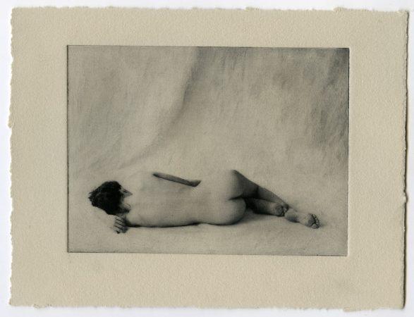 Petit nu 1, 2019 Photogravure Dim. tirage : 14 x 19 cm