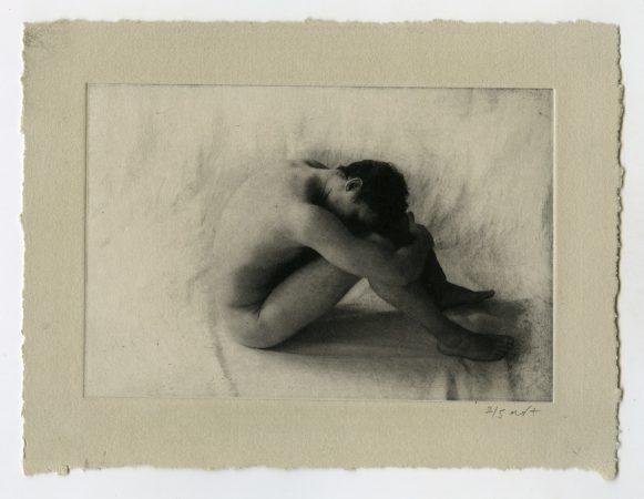 Petit nu 5, 2019 Photogravure Dim. tirage : 14 x 19 cm