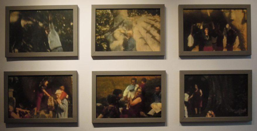 Nel Parco Jardin des monstres, Salvatore Puglia, galerie Sit Down