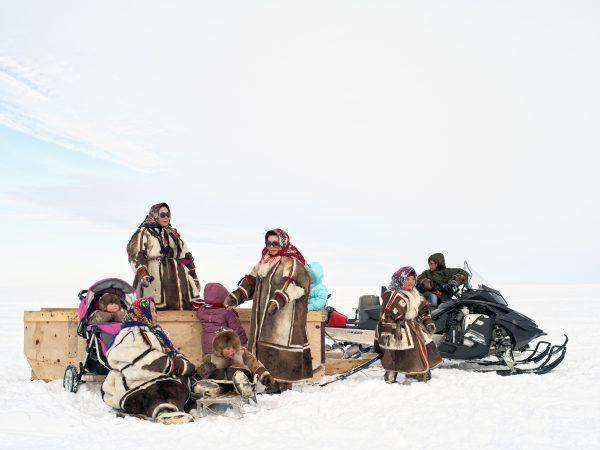 Charles Xelot, Nenets family, 2016 © galerie Sit Down