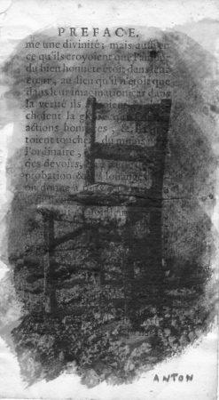 Préface chaise 1