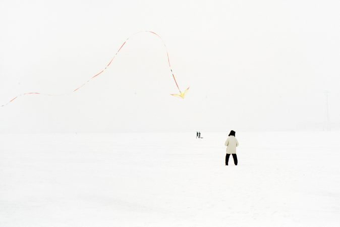 Catherine Henriette, conte d'hiver, cerf volant 3, 2013 galerie Sit Down