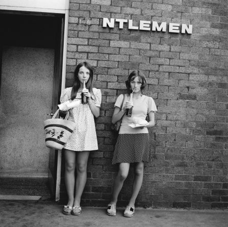Série People, 'ntlemen, Cowley, Oxford, 1973©Tom Wood courtesy galerie Sit Down