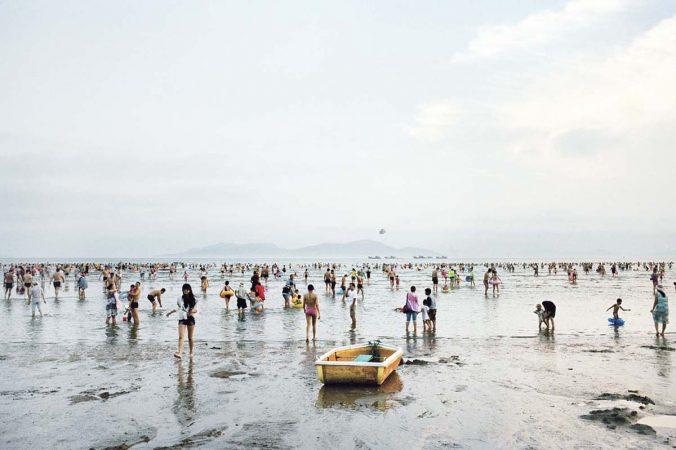 Catherine Henriette, Conte d'été, Marée basse, Qingdao, 2014 galerie Sit Down