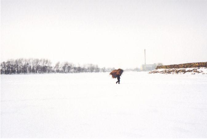Catherine Henriette, conte d'hiver, L'homme à la botte de foin, 2013 galerie Sit Down