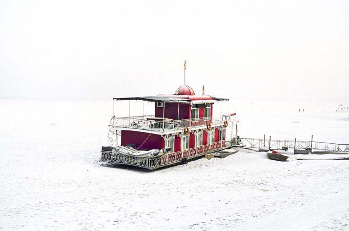 Catherine Henriette, conte d'hiver, Le bateau rouge, 2014 galerie Sit Down