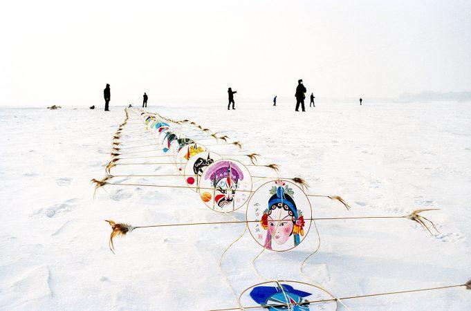 Catherine Henriette, conte d'hiver, Les cerfs volants, 2013 galerie Sit Down