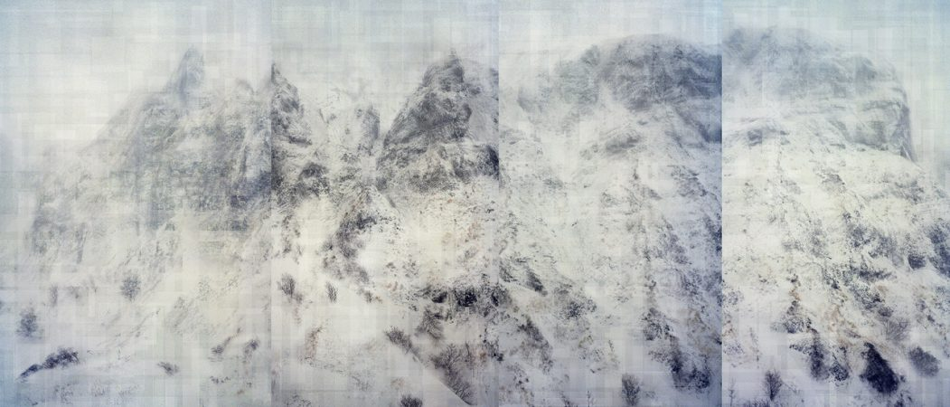 Florian Ruiz, La Contamination blanche, Galerie Sit Down, 0,346 Bq