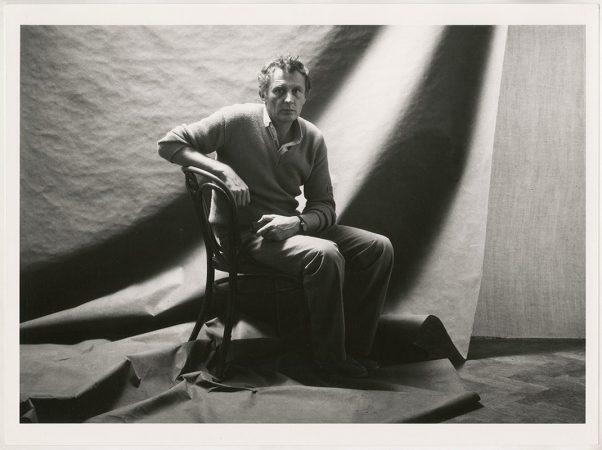 Jean-François BAURET, Autoportrait, 1988 © galerie Sit Down
