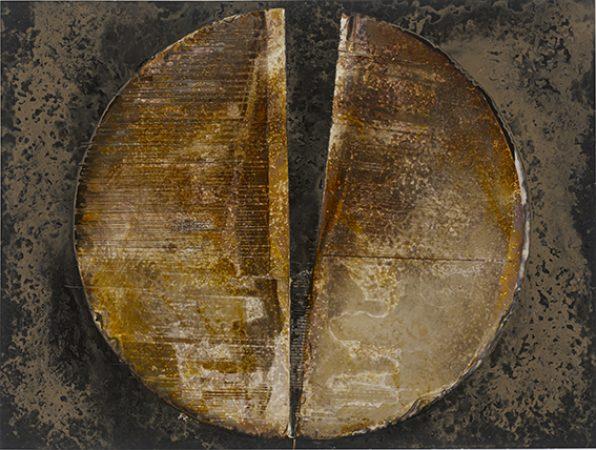 Silvi SIMON, Cercle brisé 3, Chimie Lumineuse, galerie Sit Down
