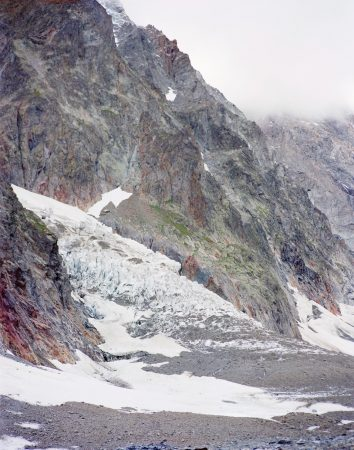 Glacier du Miage (II), Val Vény, Italie, Aurore Bagarry, Glaciers, galerie Sit Down