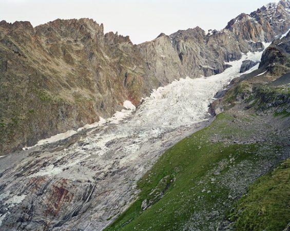 Glacier du Brouillard, Aurore Bagarry, Glaciers, galerie Sit Down