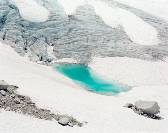 Glacier du Tour (III), vallée de Chamonix, France, Aurore Bagarry, Glaciers, galerie Sit Down