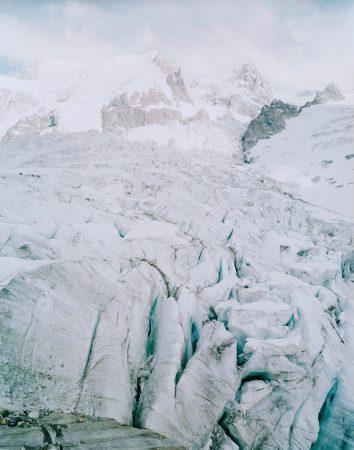Glaciers des Bossons, vallée de Chamonix, FranceAurore Bagarry, Glaciers, galerie Sit Down